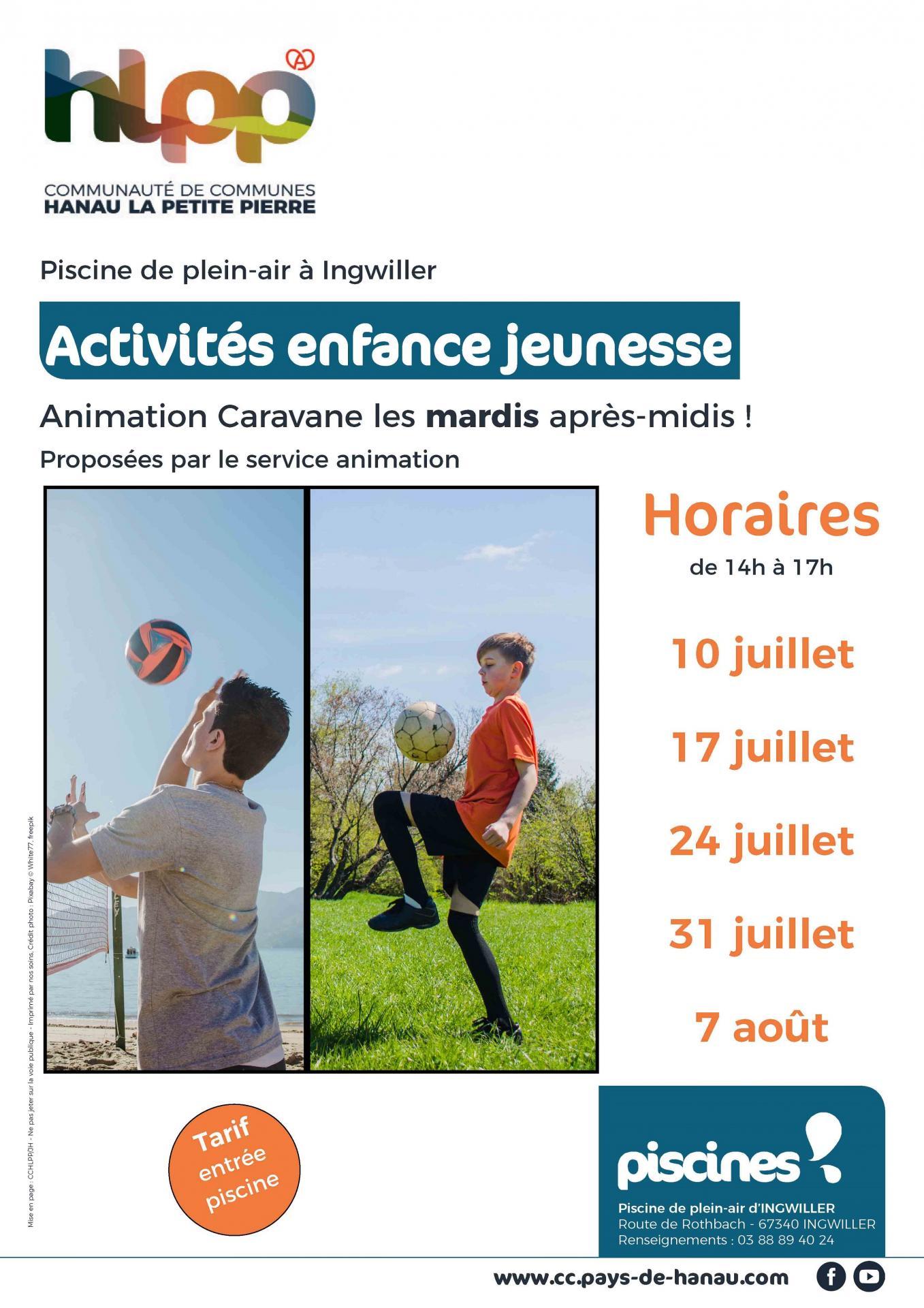 20180604 affiche activites enfance et jeunesse