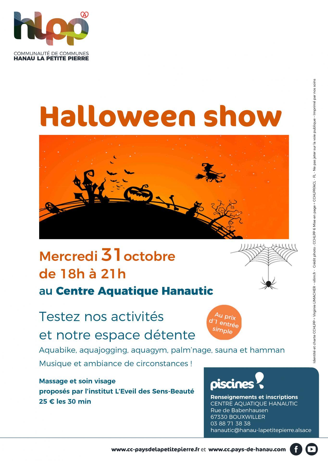 20181017 piscines halloween show
