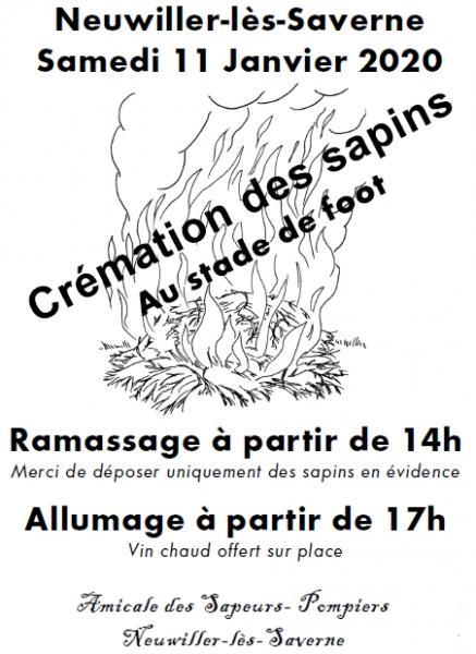 Affiche cremation