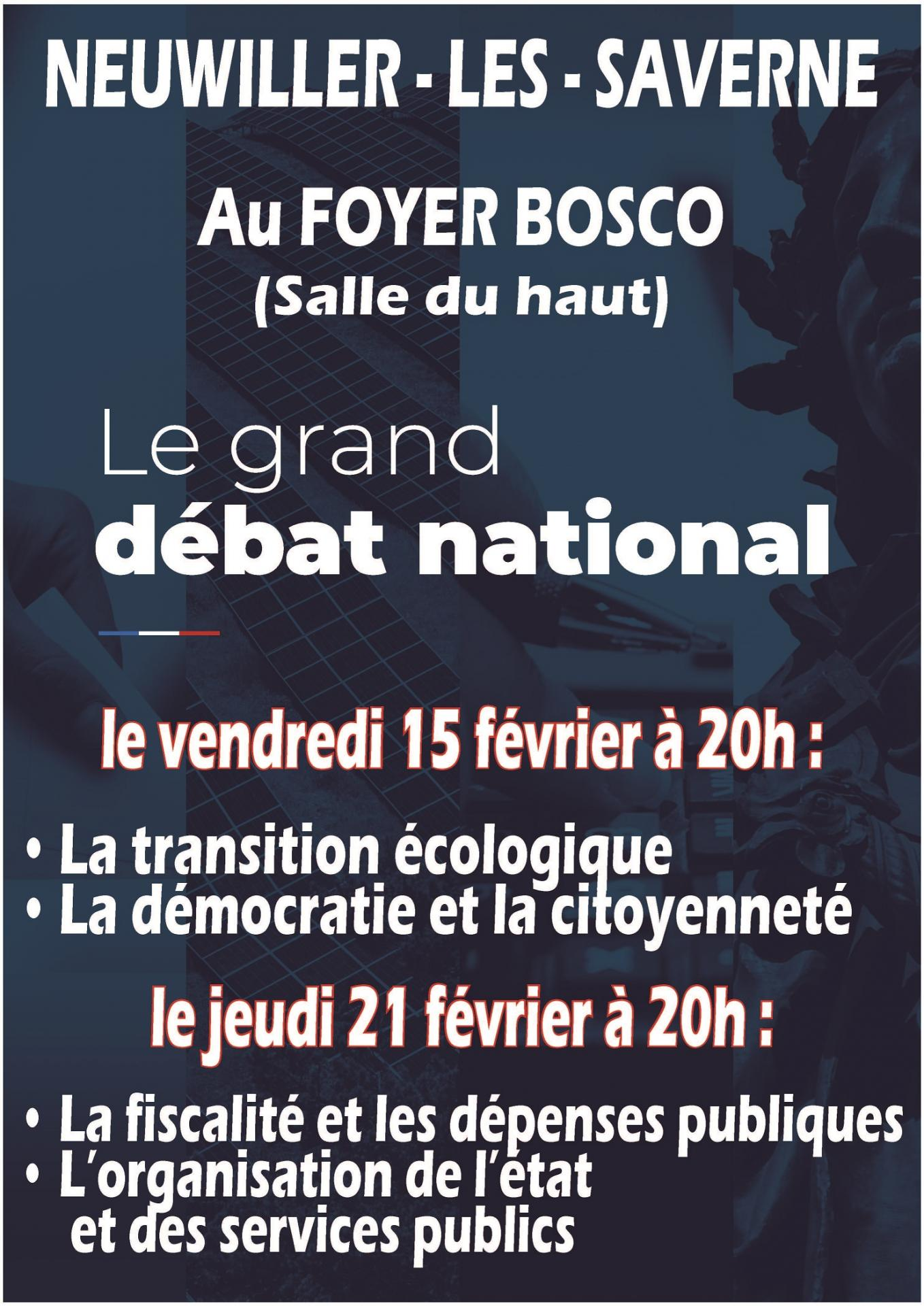 Affiche debat fb