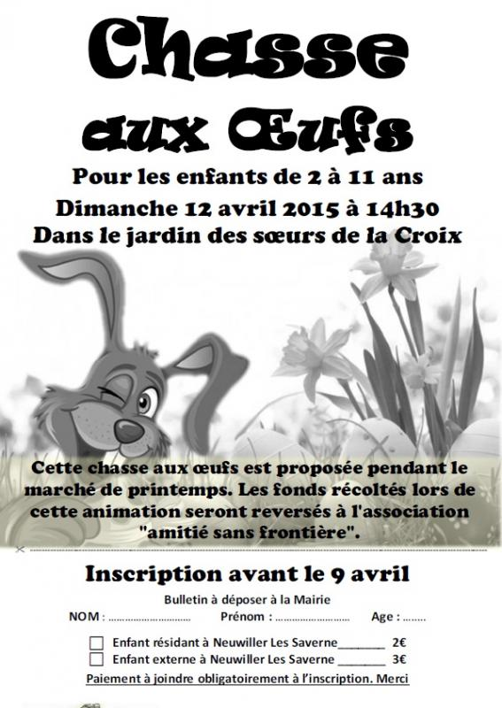 Chasse oeuf2015