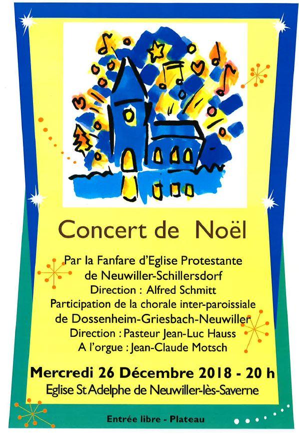 Concert noel protestant
