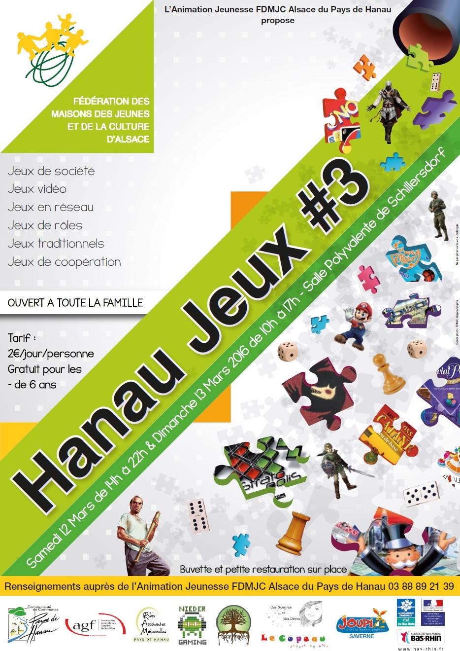 Hanau jeux