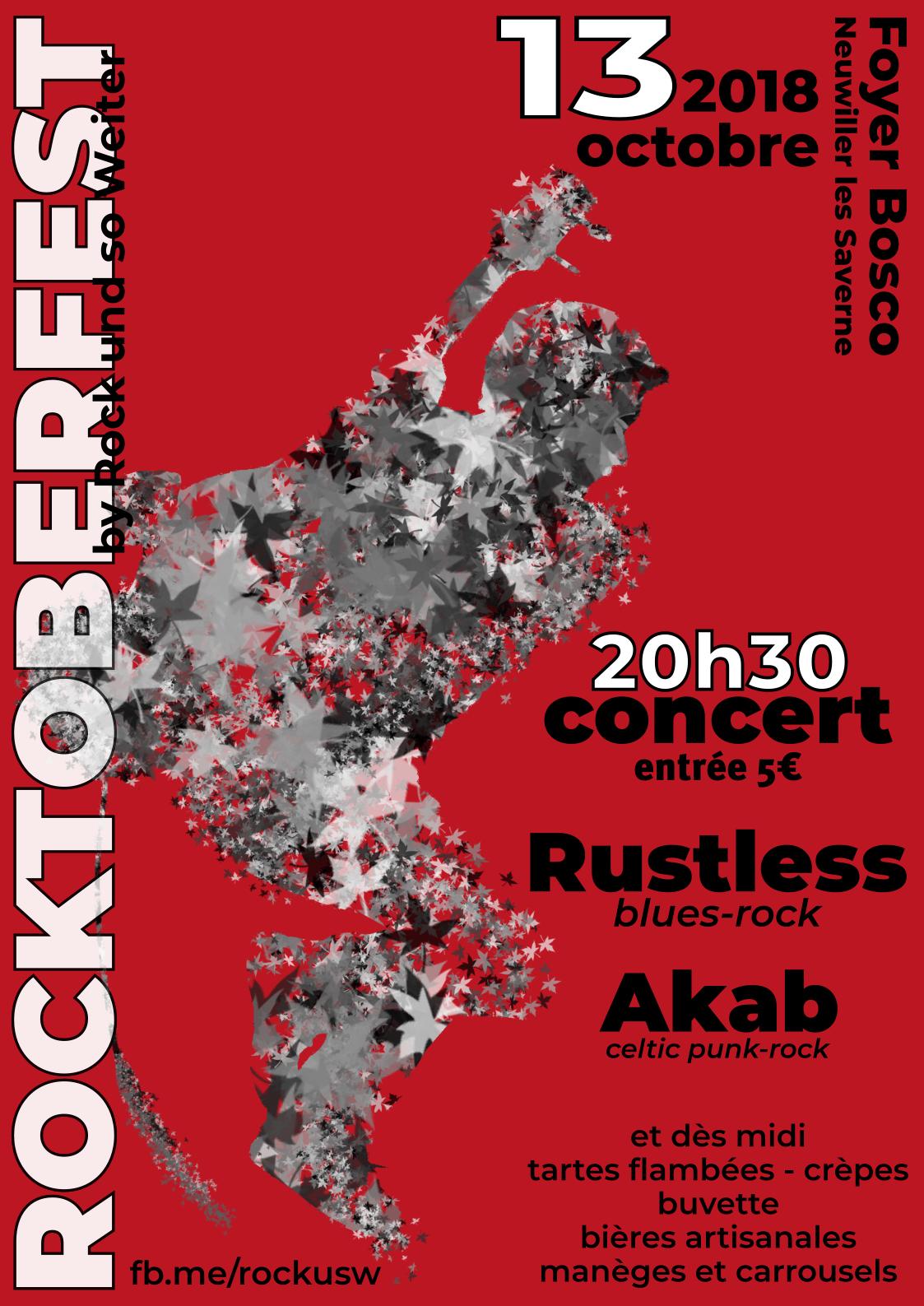Rocktoberfest couleur